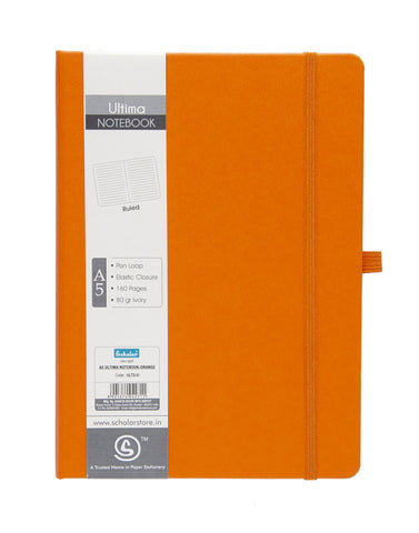 A5 ULTIMA NOTEBOOK - ORANGE (ULT2-O)