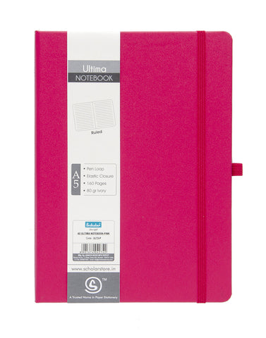 A5 ULTIMA NOTEBOOK - PINK (ULT2-P)