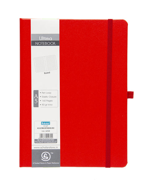 A5 ULTIMA NOTEBOOK - RED (ULT2-R)
