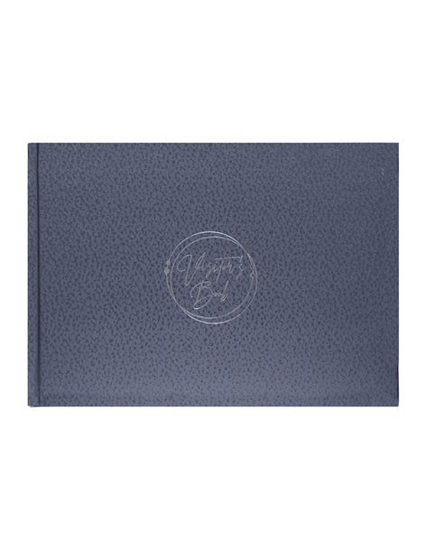 A5 MARVEL VISITORS BOOK - SILVER (VB11-A)
