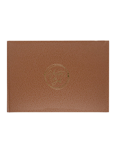 A5 MARVEL VISITORS BOOK - COPPER (VB11-C)