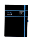 A5 VIVID NOTEBOOK - BLUE (VVN2-B)
