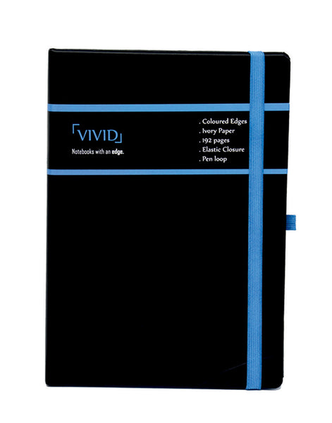 A5 VIVID NOTEBOOK - BLUE