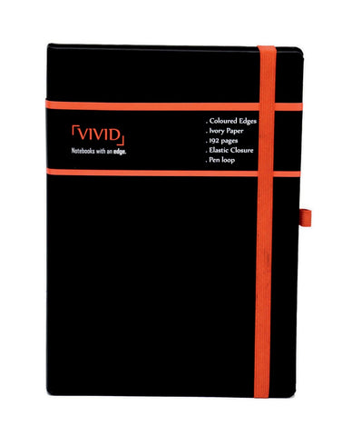 A5 VIVID NOTEBOOK - RED (VVN2-R)
