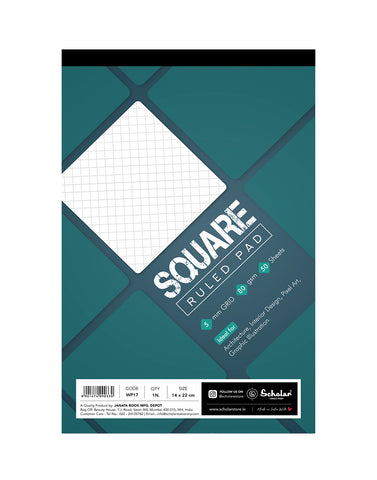 A5 SQUARE PAD (Pack of 5) (WP17)