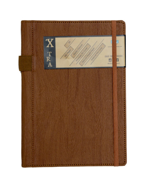 A5 X-TRA NOTEBOOK - BROWN (XTR2-A)