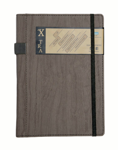 A5 X-TRA NOTEBOOK - GREY (XTR2-B)