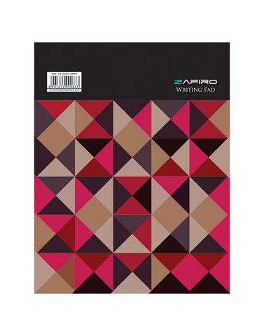 A4 Zafiro Writing Pad 40 Leave (Pack of 5) (ZWP4)