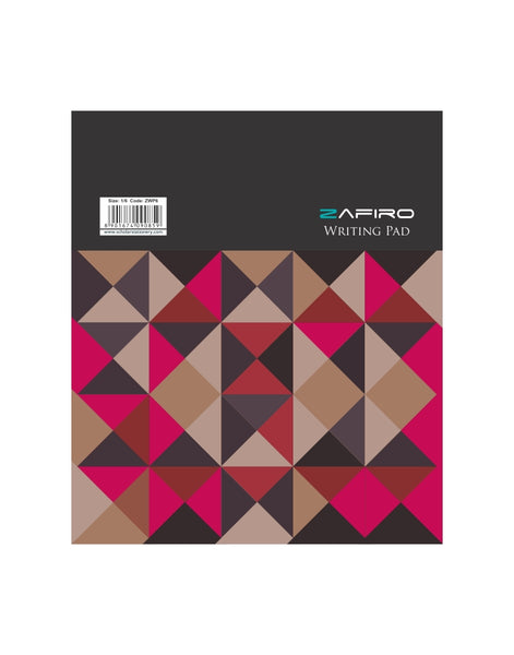 A5+ Zafiro Writing Pad 40 Leave (Pack of 5) (ZWP6)
