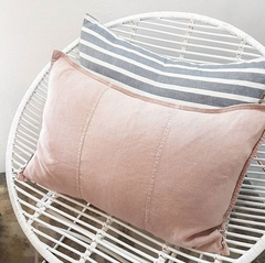 Eadie Luca feather filled linen cushion musk |$94.95 |The Home Maven