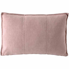 Eadie Luca linen feather filled cushion musk |$89.95 |The Home Maven