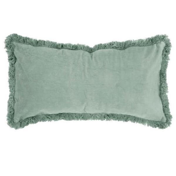 Eucalyptus Velvet breakfast Cushion - Homewares $59.95 |The Home Maven