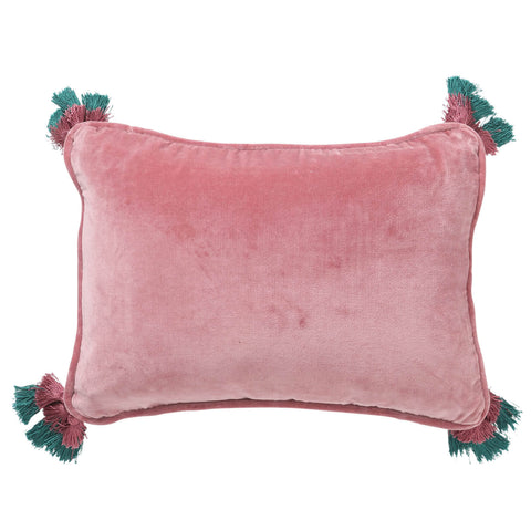 Kip and co Velvet Souk Cushion - Dusty Pink | The Home Maven