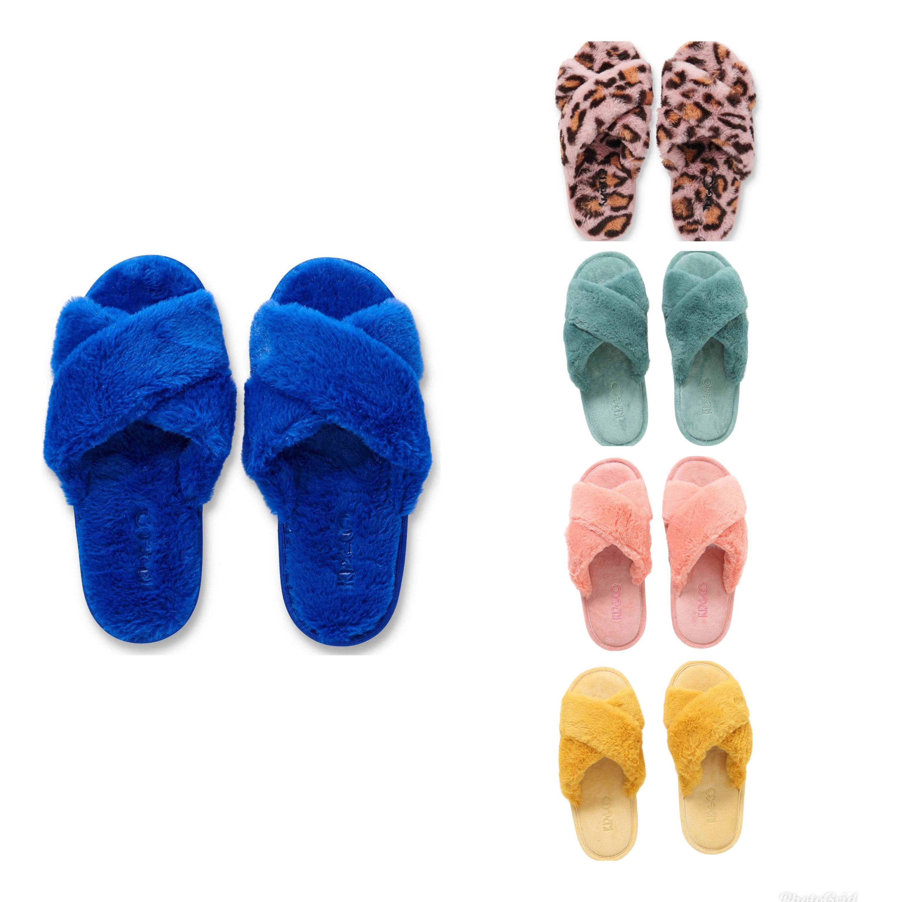 Slippers - Dazzling Blue