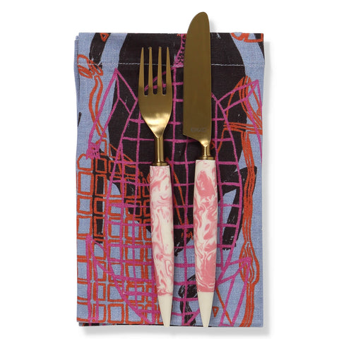 KIP AND CO X BABBARRA KUNRONJ |6 PIECE NAPKIN SET |THE HOME MAVEN