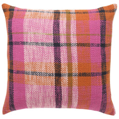 Kip and co Marmalade toast tartan cushion | The Home Maven