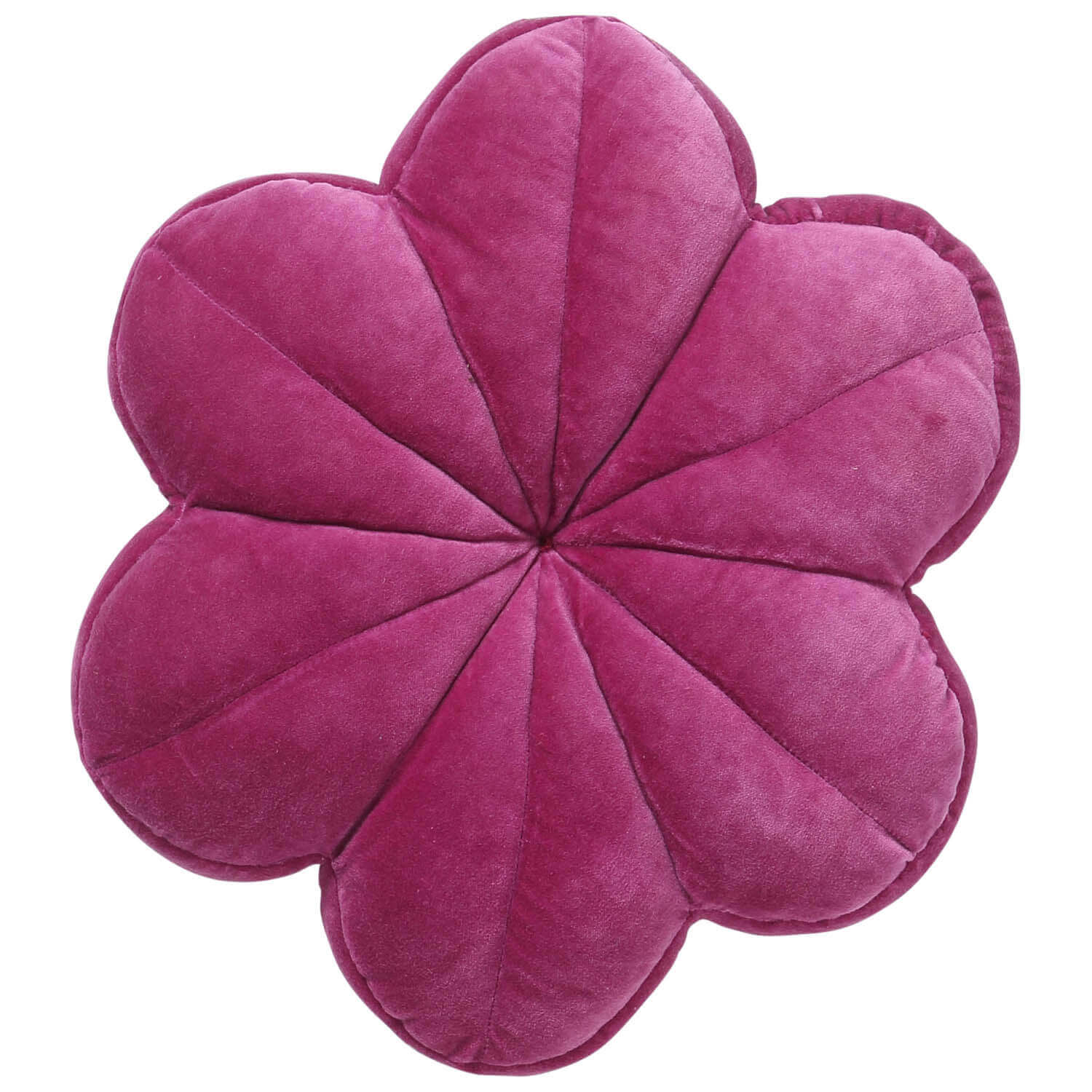 Kip and co velvet petal cushion - Passionfruit | The Home Maven