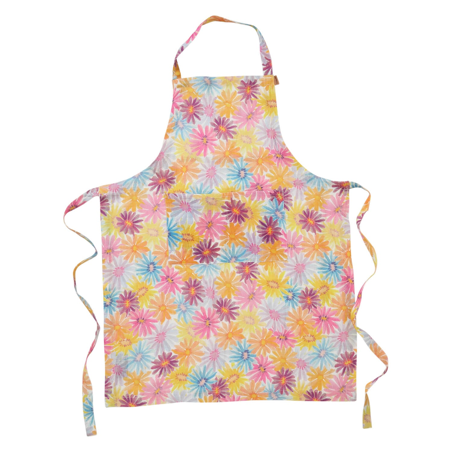 Kip and co French linen apron - petal power |The Home Maven