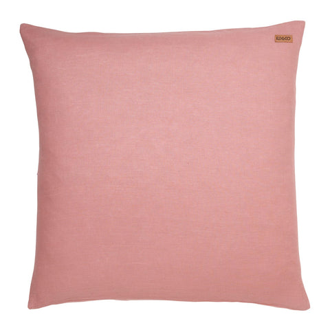 Linen Euro Pillowcase - Bridal Rose Pink - Adult bedding - $55 - My House Loves