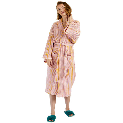 Kip and co robe tartan waffle sunny days | The Home Maven
