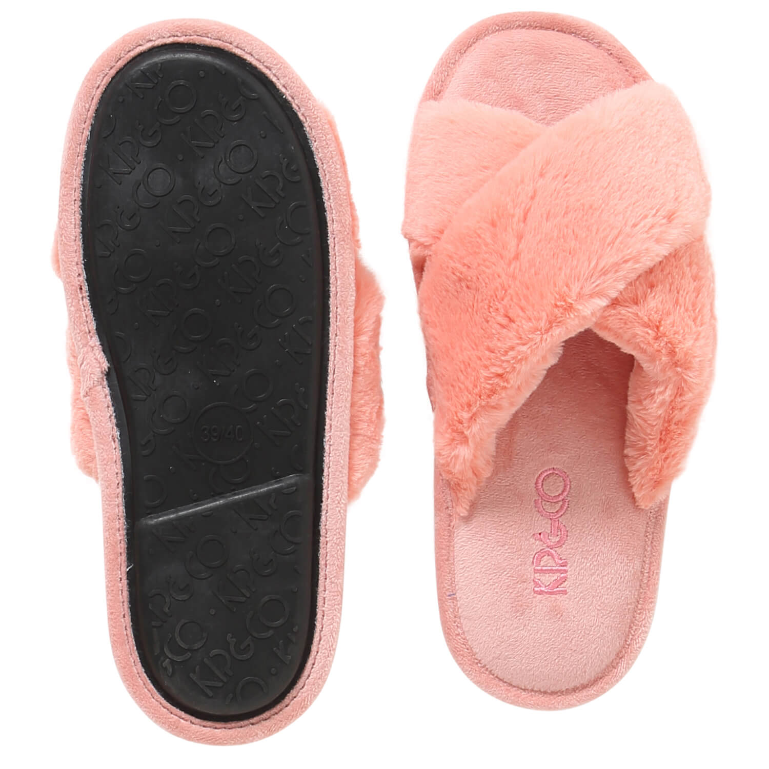 Kip and Co blush pink slippers | The Home Maven