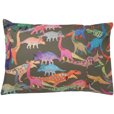 Kip and co dino earth  pillowcase set | The Home Maven