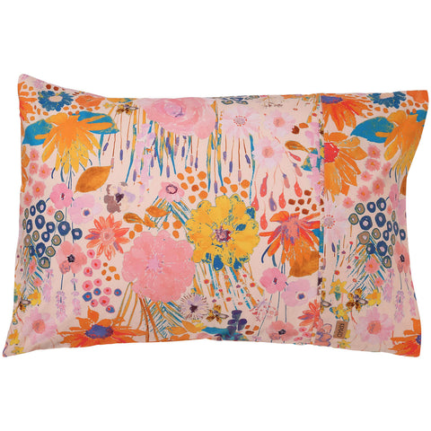 KIP AND CO FIELD OF DREAMS PINKY PILLOWCASE |THE HOME MAVEN