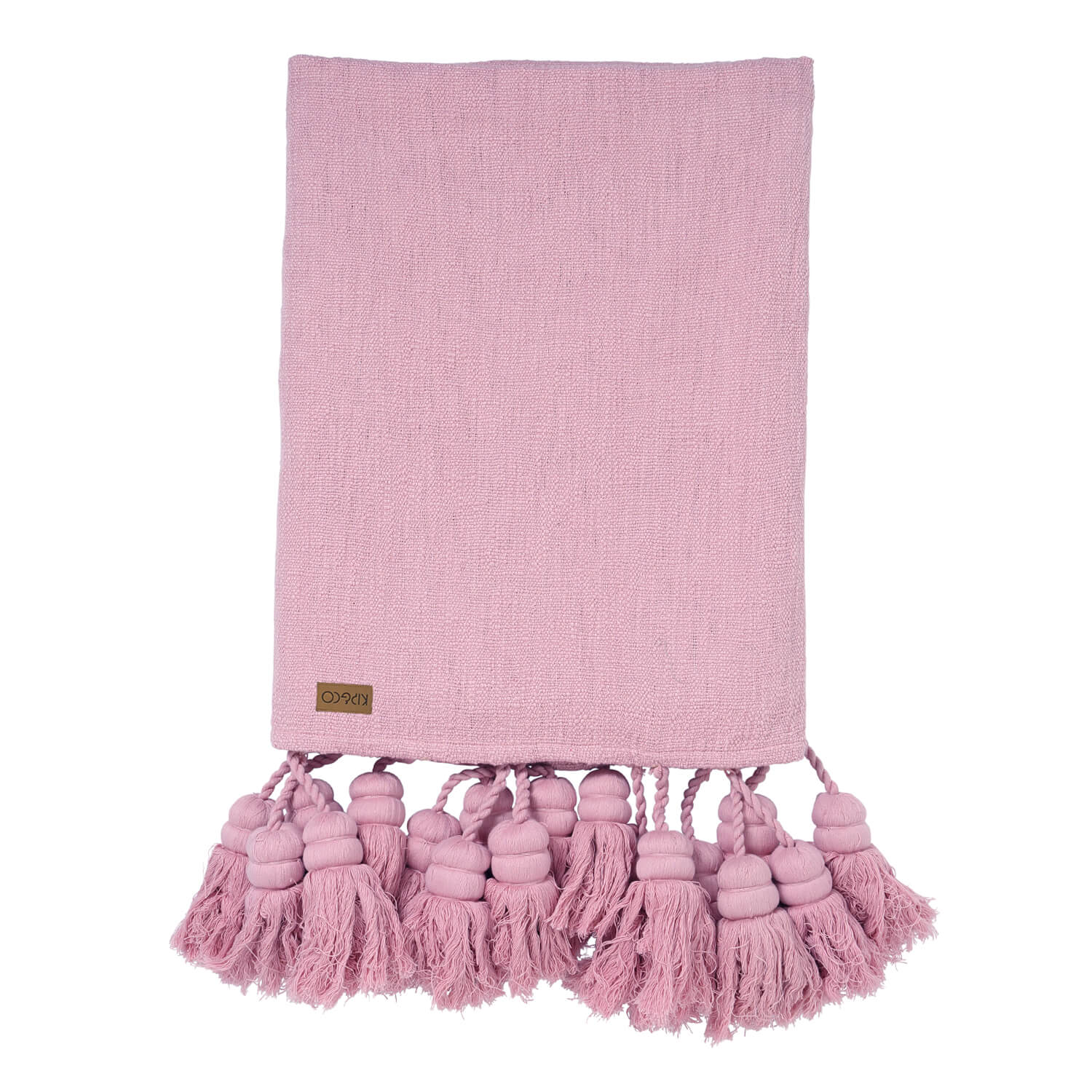 Kip and co lilac tassel throw | The Home Maven
