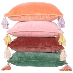 Kip and co velvet marsala souk cushion | The Home Maven