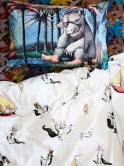 Kip and co - Max Bedding - Where the Wild Things Are | The Home Maven