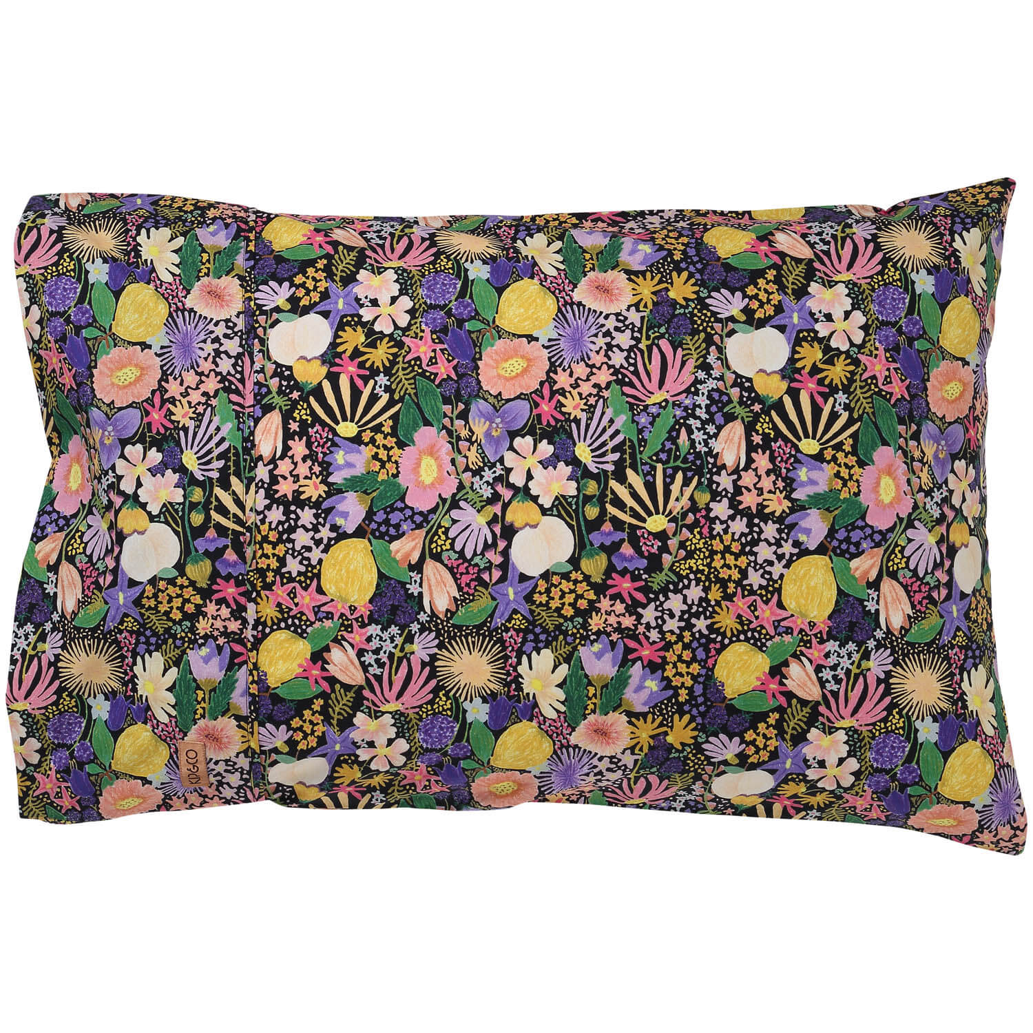 Kip and co pillowcase set meadow black | The Home Maven