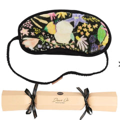 Kip and co meadow black velvet eye mask bonbon | The Home Maven