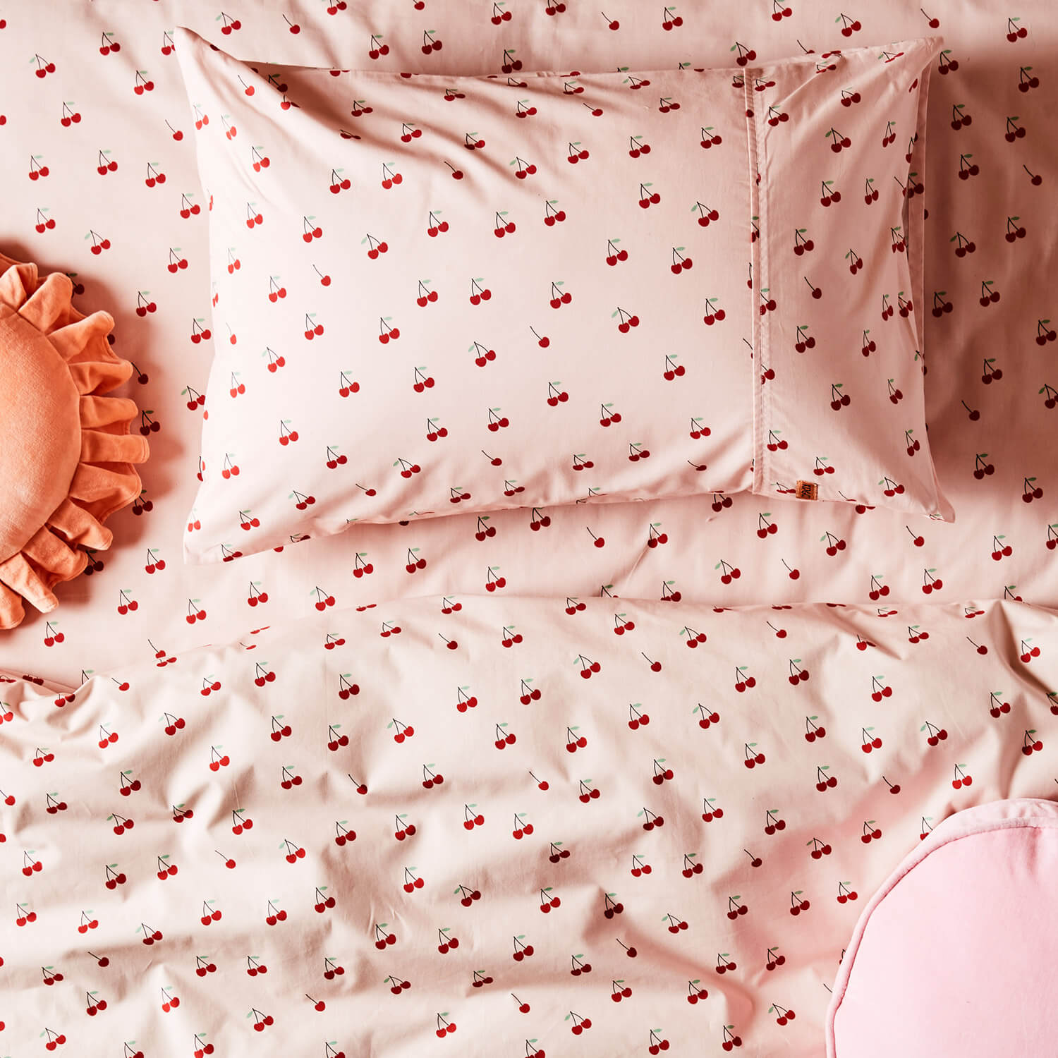 Kip and co pillowcase and quilt Mon cherie | The Home Maven