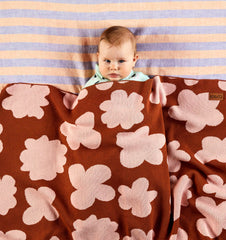 Kip and co pansy cotton blanket | The Home Maven