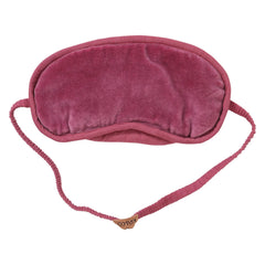Kip and co velvet eye mask bon bon Peony Rose | The Home Maven