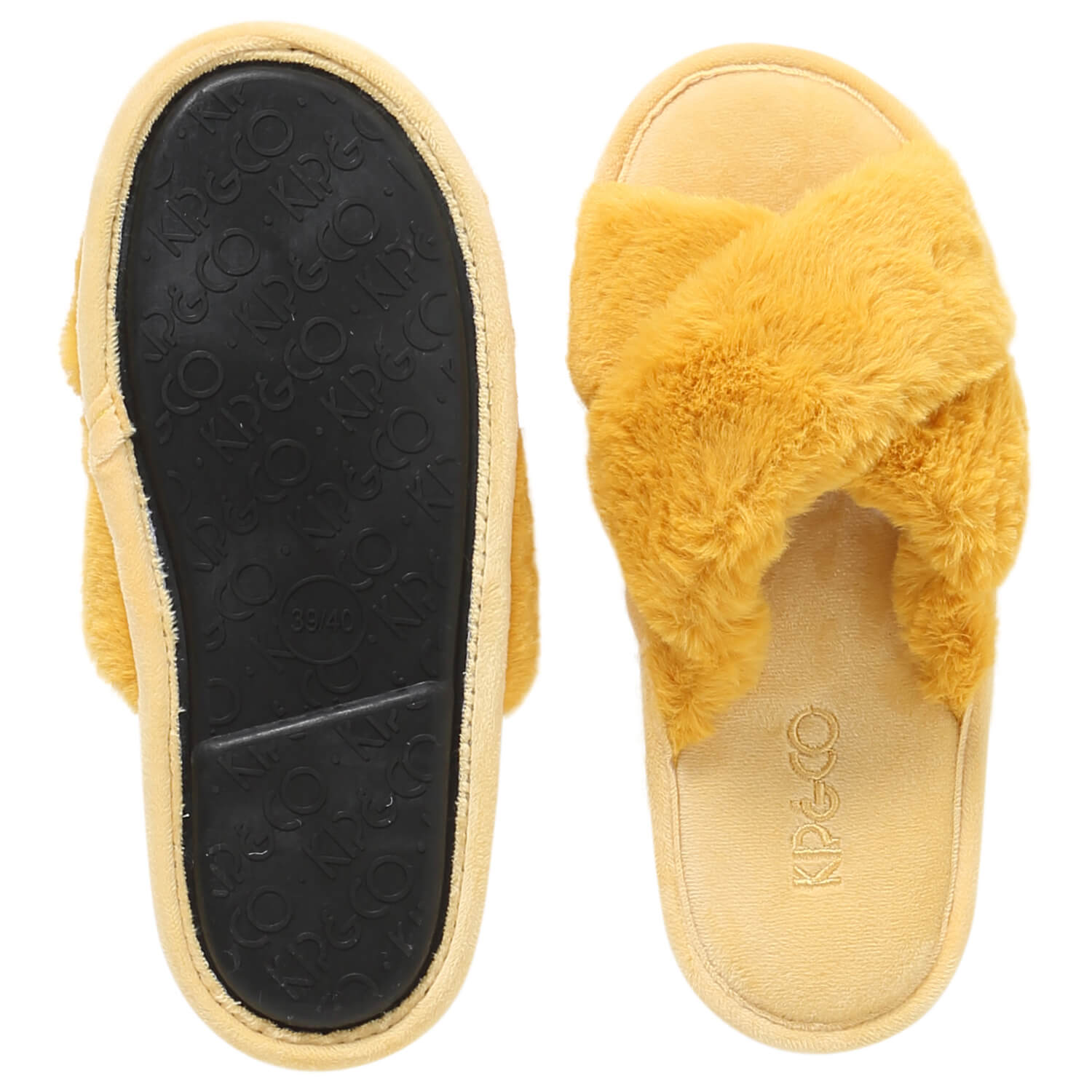 Kip and co slippers Sunshine Yellow | The Home Maven