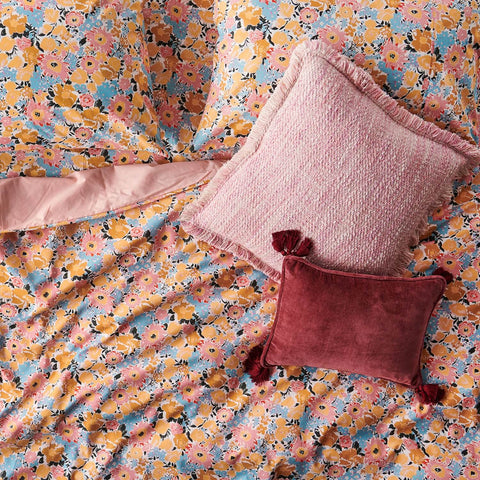 KIP and CO POLLEN AUTUMN COTTON PILLOWCASE SET |THE HOME MAVEN
