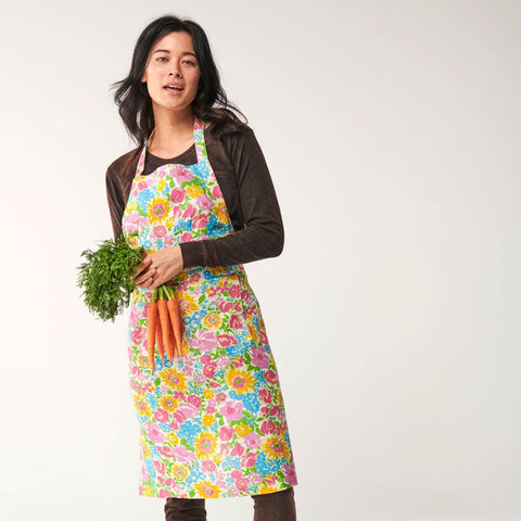 KIP AND CO |POLLEN LINEN APRON |THE HOME MAVEN