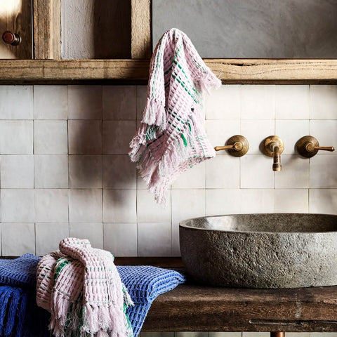 Kip and Co lilac hand towel | The Home Maven