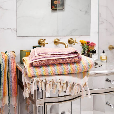 kip and co turkish towels pebbles bath towel stripes hand towel |The Home Maven