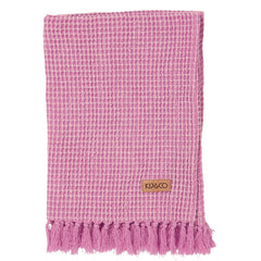 Purple patch waffle hand towel - Bathroom and Kitchen - $19 |My House Loves