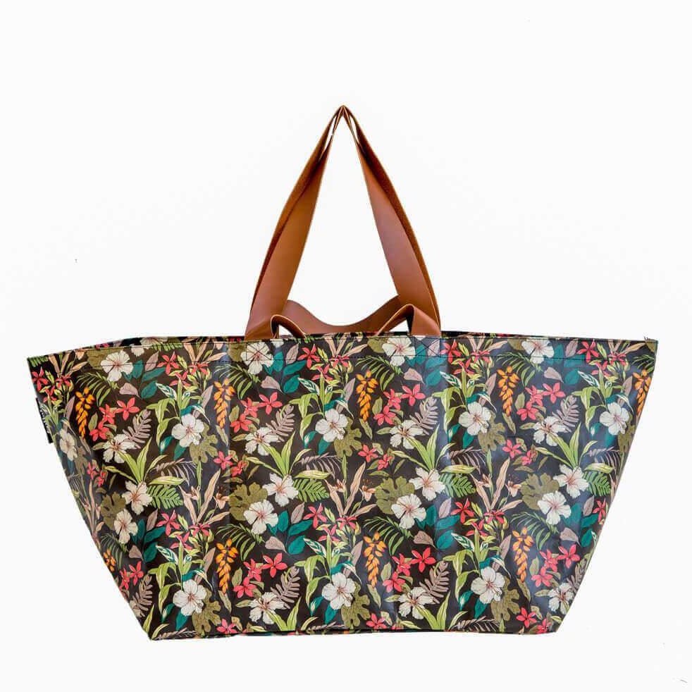 Kollab Hibiscus Beach Bag |The Home Maven
