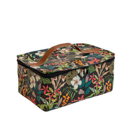 Kollab Hibiscus toiletry stash Bag |The Home Maven