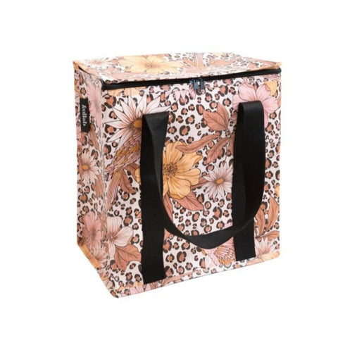 Kollab cooler bag | leopard floral | The Home Maven