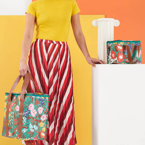 kollab cooler bag and lunch bag spring garden | The Home Maven