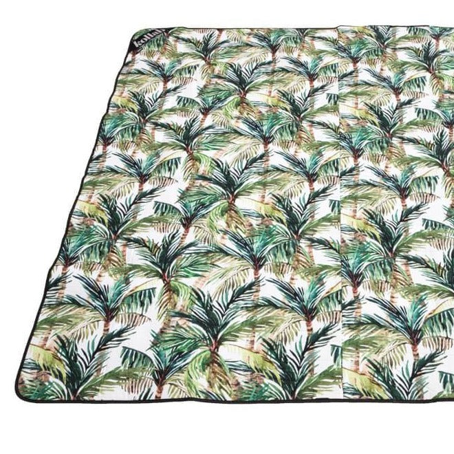 Kollab Green Palm picnic mat |The Home Maven