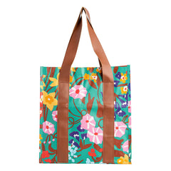Kollab market bag spring garden | The Home Maven