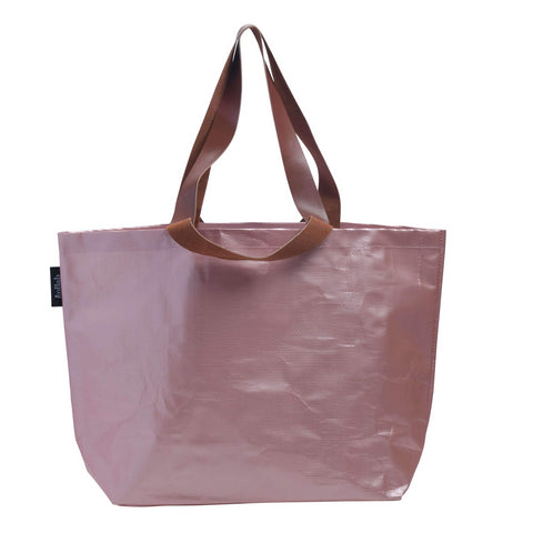 Kollab Rose gold Shopper tote | The Home Maven
