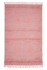 Cotton Fringe Rug - Blush - $297 -$858 |My House Loves