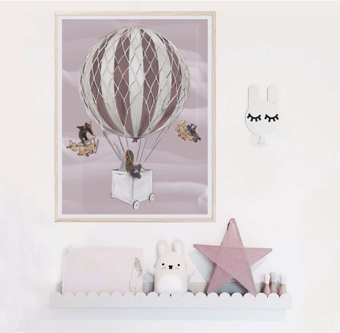 Little Nora Print - Children's wall art -$69 -$129 | My House Loves